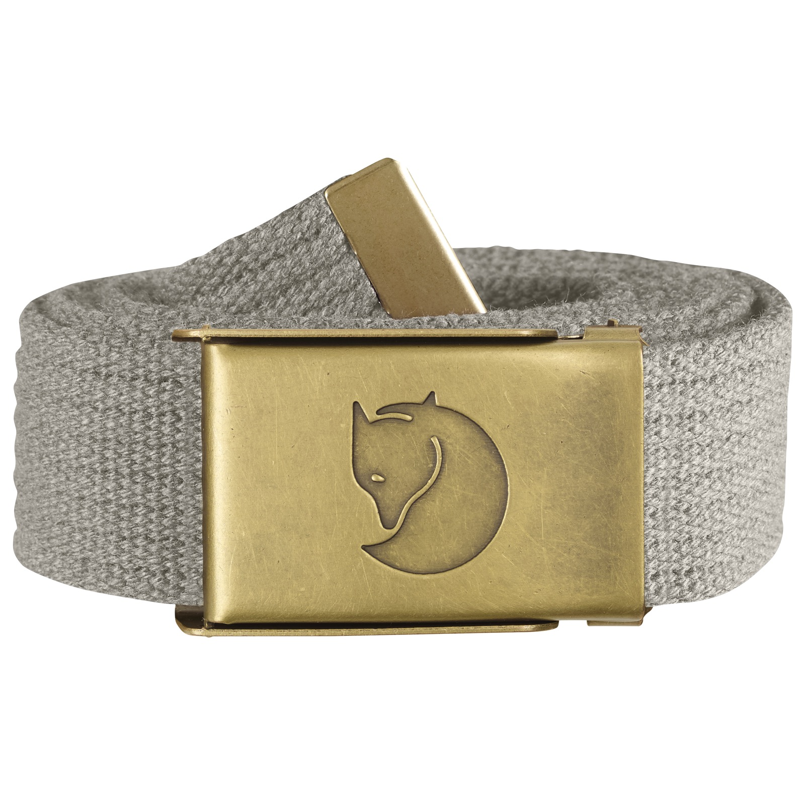 Canvas Brass Belt 3 cm