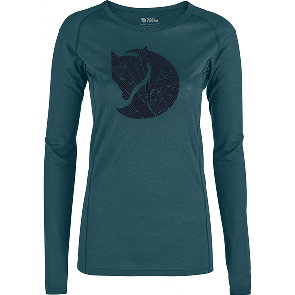 Abisko Trail T-Shirt Printed LS W